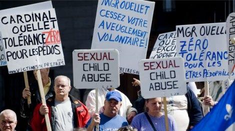 Protesting Catholic Church