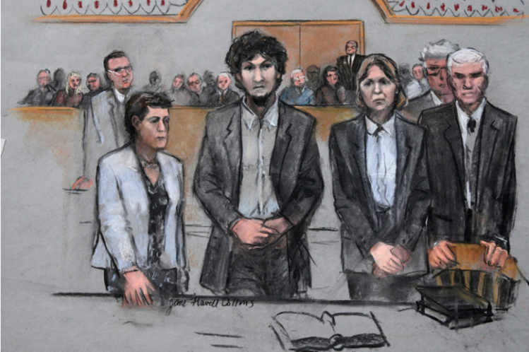 A federal jury on Friday condemned Dzhokhar Tsarnaev to death for his role in the 2013 attack.